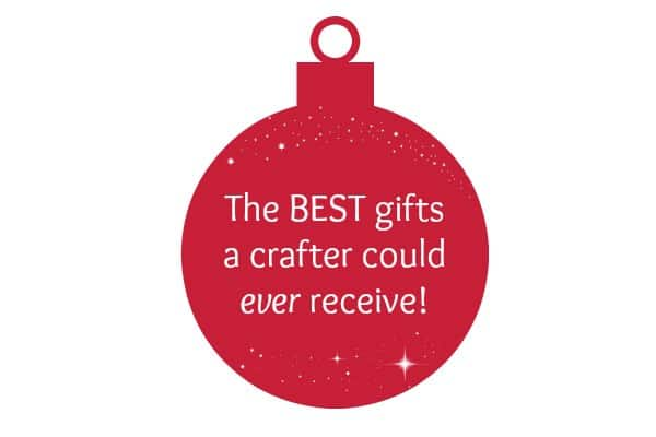 Finally, a wishlist for crafters! Check out this ultimate list of the BEST gifts for crafters! PLUS tips to hint to your spouse what you really want for the holidays! | decorbytheseashore.com