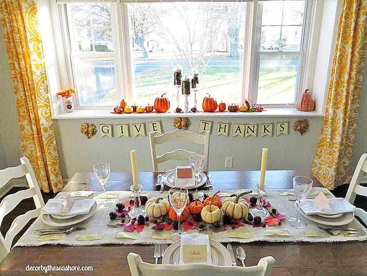 How to decorate your thanksgiving table on a budget How to decorate your house for thanksgiving