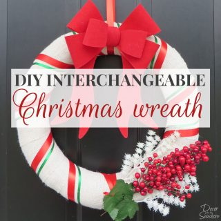 DIY Christmas Burlap Wreath Tutorial