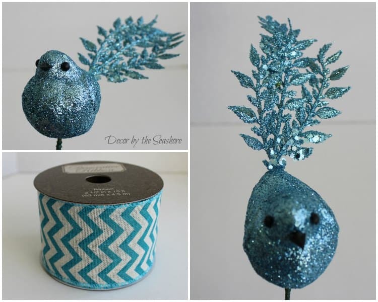 These DIY winter burlap wreath accessories are so fun and chic! I can't get enough of those little birds! Check out the full tutorial here!   decorbytheseashore.com