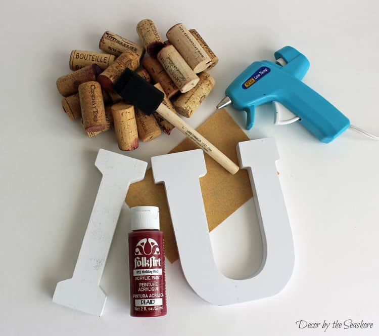 How cute is this valentine s day wine cork heart decoration it s
