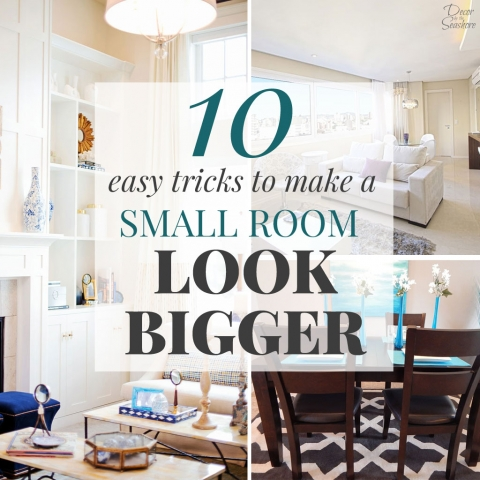 10 Easy Tricks to Make a Small Room Look Bigger