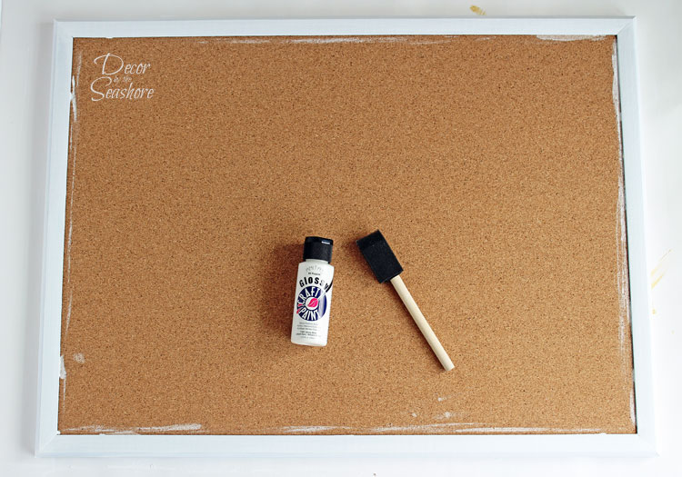Add Some E To That Old Bulletin Board With This Easy Diy Fabric Covered