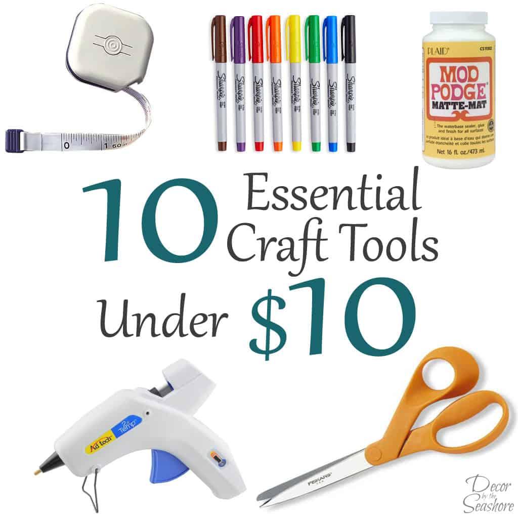 Top 10 Essential Craft Tools Under $10