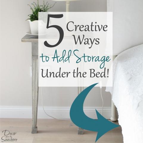 5 Creative Ways to Add Storage Under the Bed