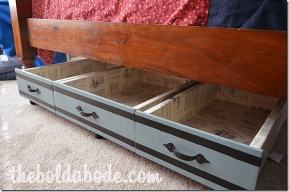 Creative Ways To Add Storage Under The Bed Decor By The