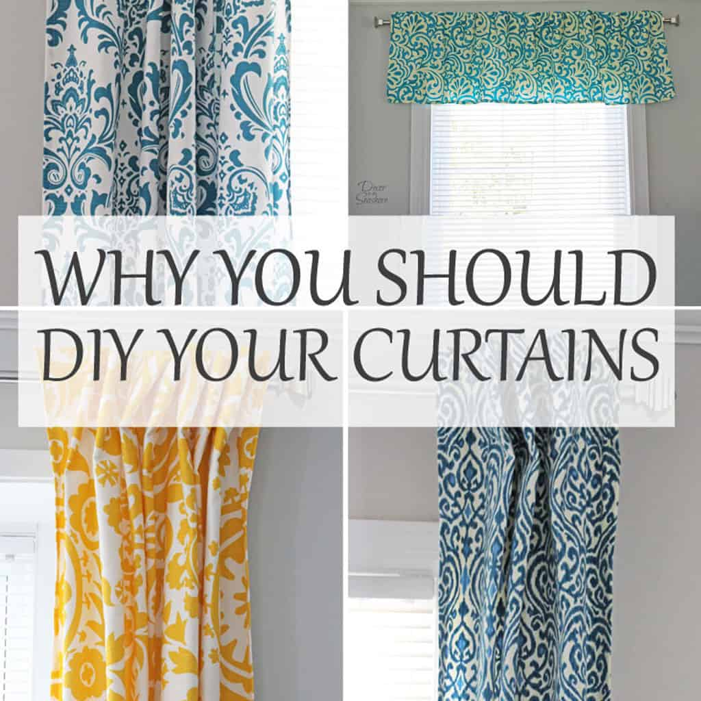 Why You Should DIY Your Curtains