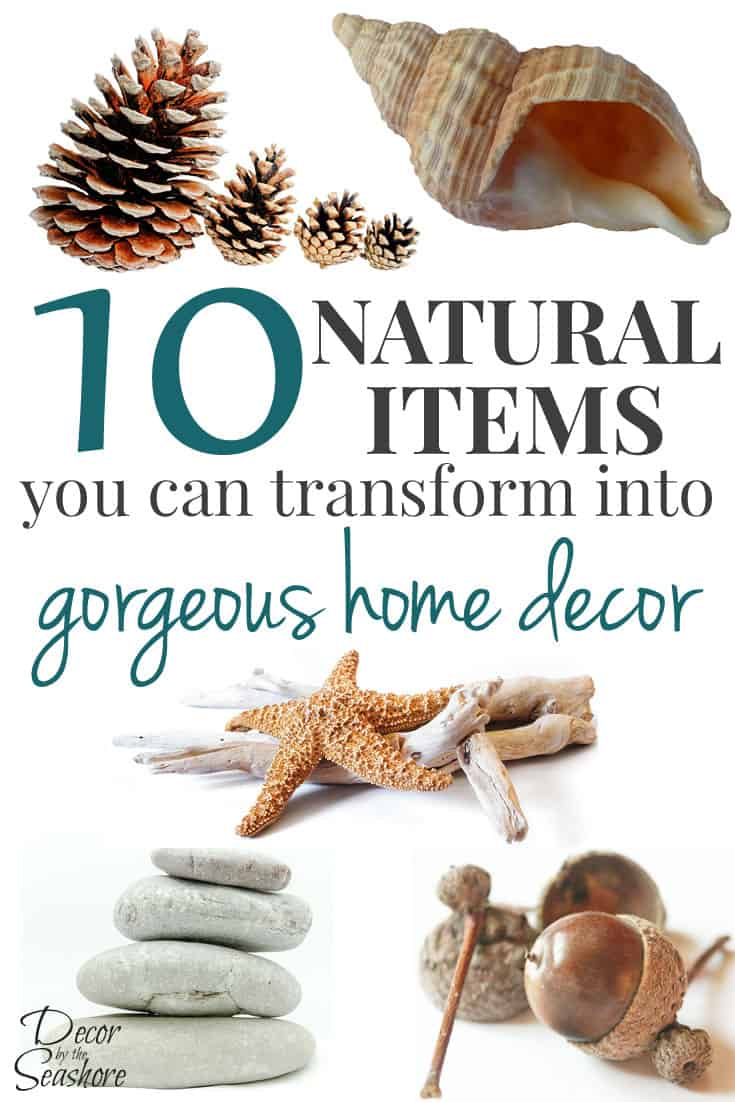 10 Natural Makeup Ideas For Everyday: 10 Natural Items You Can Craft Into Home Decor