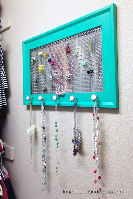 Landeelu- DIY Jewelry Organizer