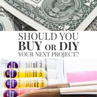 Should you DIY or buy your next project?