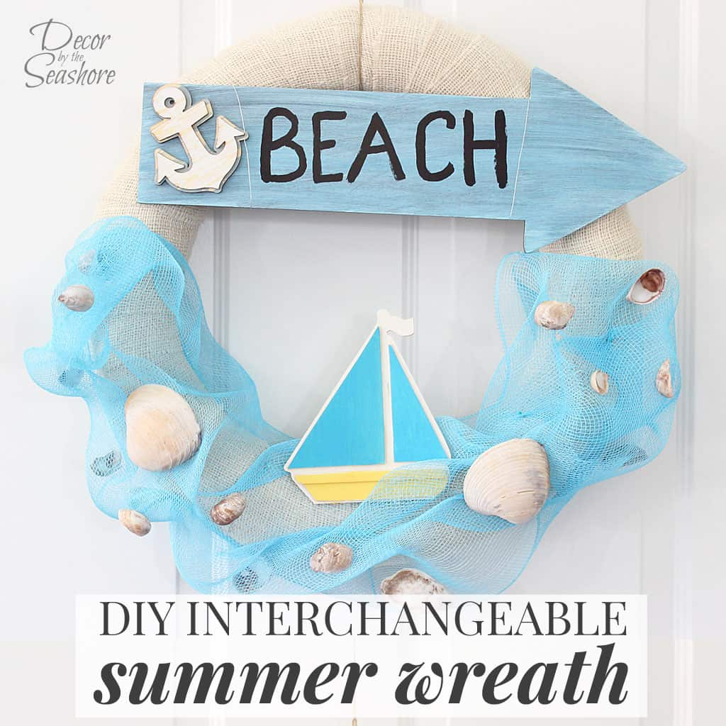 Interchangeable Summer Wreath Tutorial
