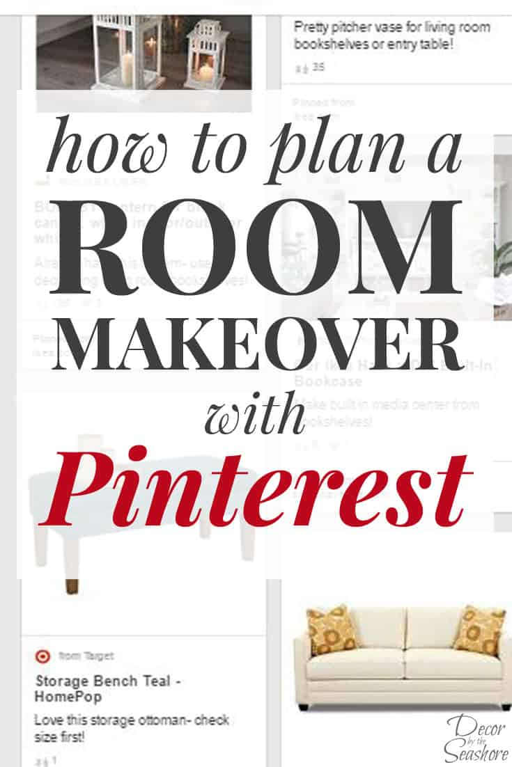 Planning Room Makeover With Pinterest Vertical Header