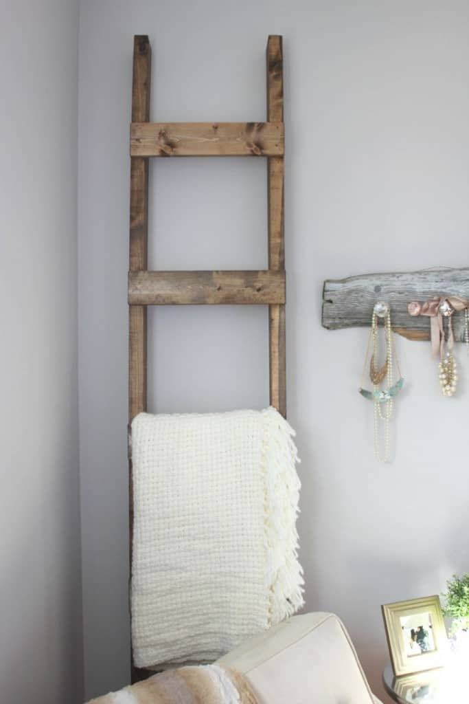 DIY Blanket Ladder- Making it in the Mountains