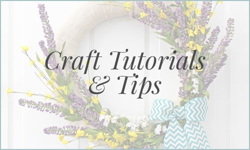 These detailed, step-by-step tutorials and craft tips will show you how to make your own home decor and decorate your home for the holidays!