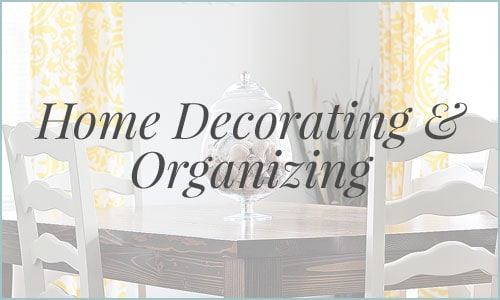 Check out creative ways to organize and decorate your home with these helpful tips!