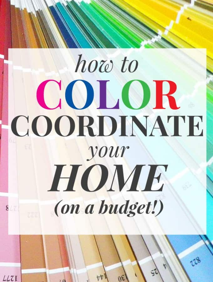 When it comes to creating a home color palette, it can be so hard to know which colors to pick! This takes you step-by-step through the process to color coordinate your home. Best of all, you can do it all on a budget! See for yourself how easy it is to decorate your home like the pros without spending a ton of money! | decorbytheseashore.com