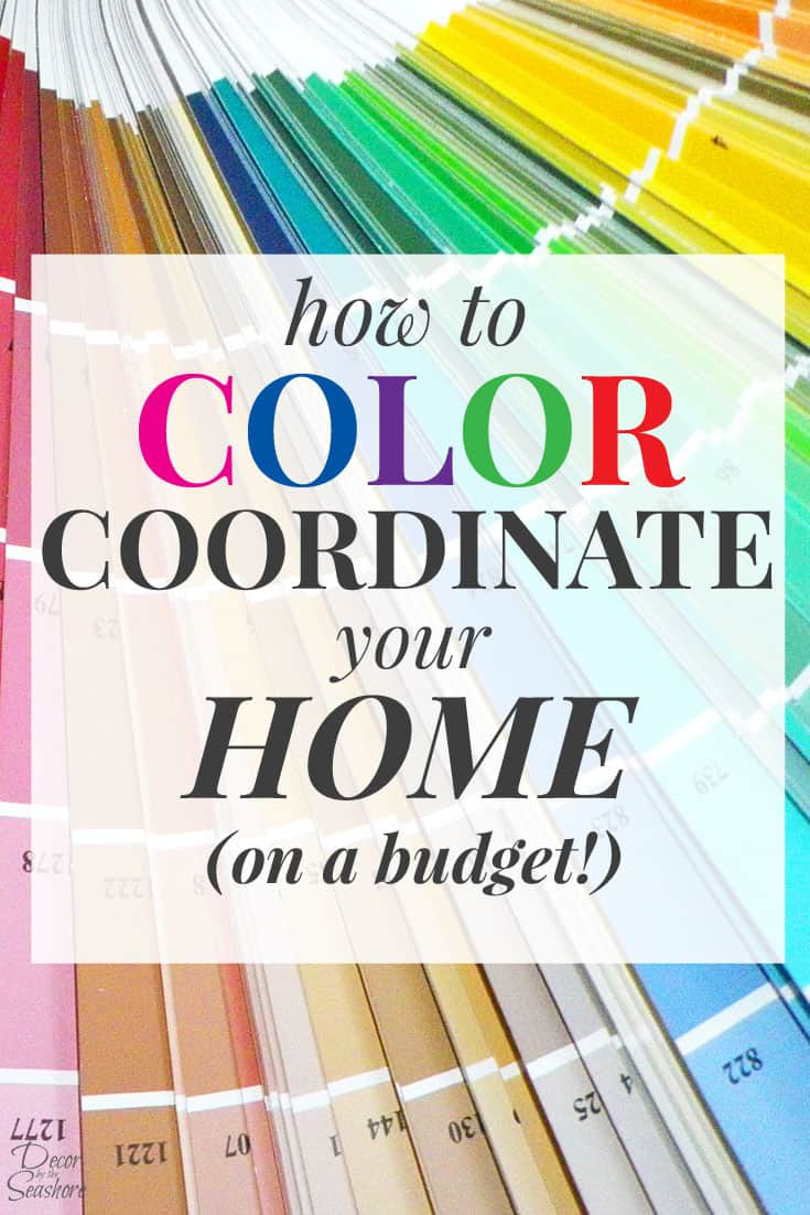 How to color coordinate your home on a budget create a home color palette - How to decorate a house on a budget ...
