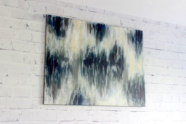 One hour canvas art- Love Create Celebrate