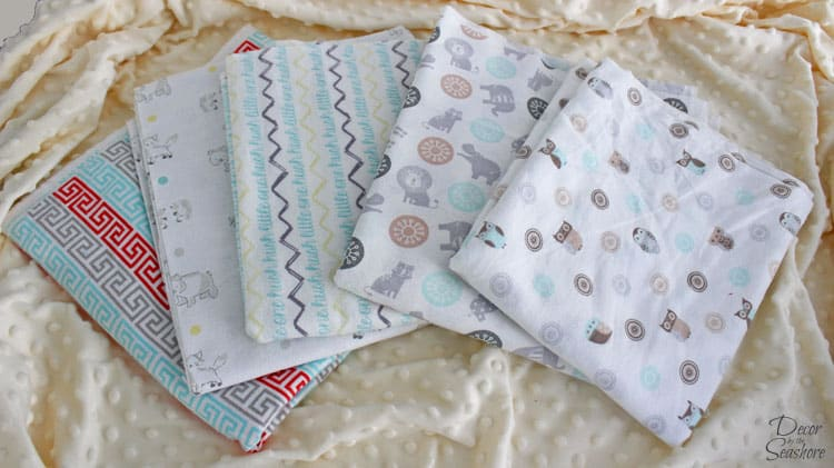 Baby fabric, because is there ever such thing as too much cute fabric?