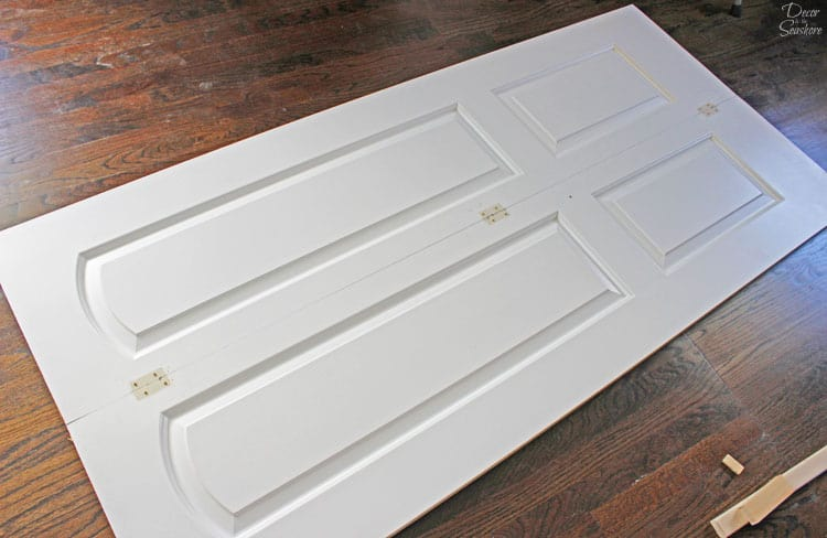 Turn Your Bi Fold Door Into French Doors With This Easy Tutorial! It Shows