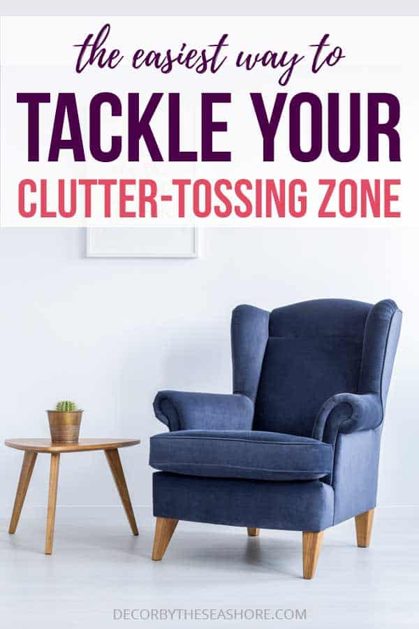The Easiest Way to Tackle Your Clutter-Tossing Zone
