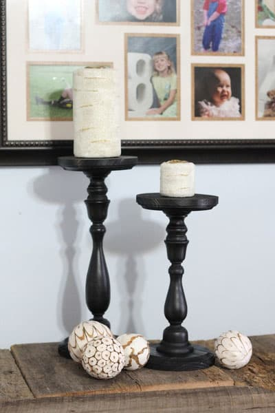 The Country Chic Cottage- Candles and Holders