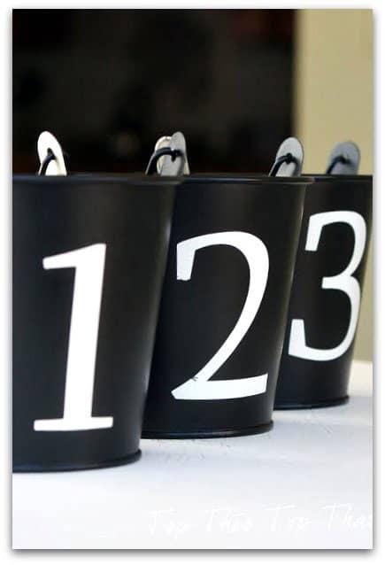 Duke Manor Farm- Numbered Buckets