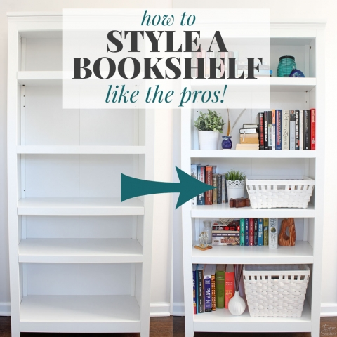 How to Style a Bookshelf Like the Pros