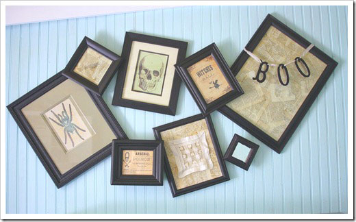 The Shabby Creek Cottage- Crooked Frame Display