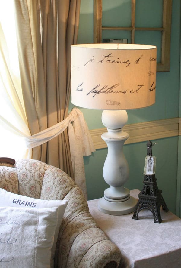 The Shabby Creek Cottage- Love Letter Lamp Tutorial