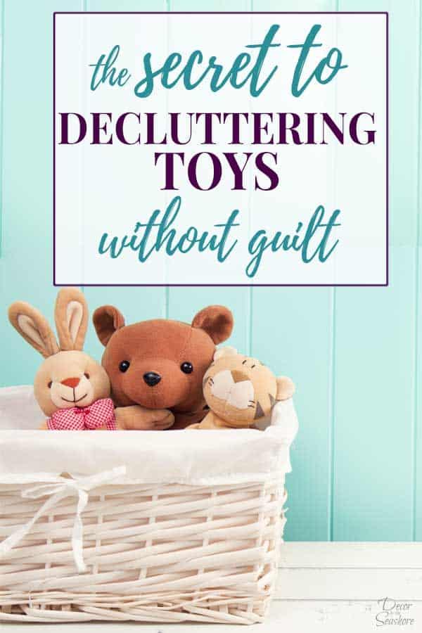 Decluttering toys header