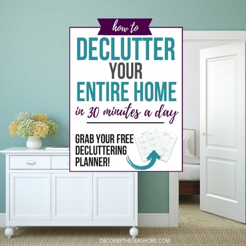 How to Declutter Your Entire Home in 30 Minutes a Day