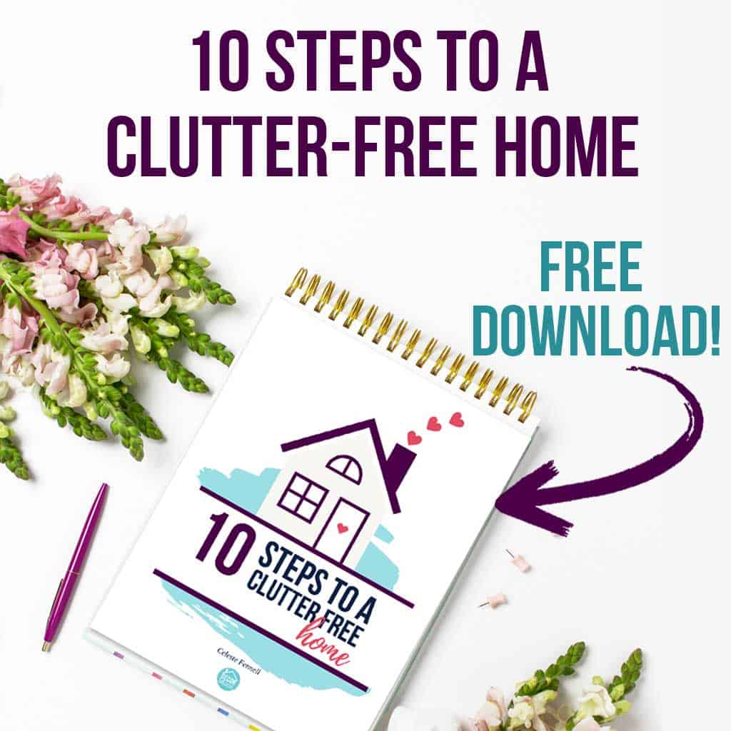 10 Steps to a Clutter-Free Home