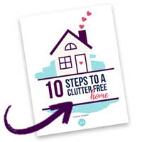 Free decluttering guide